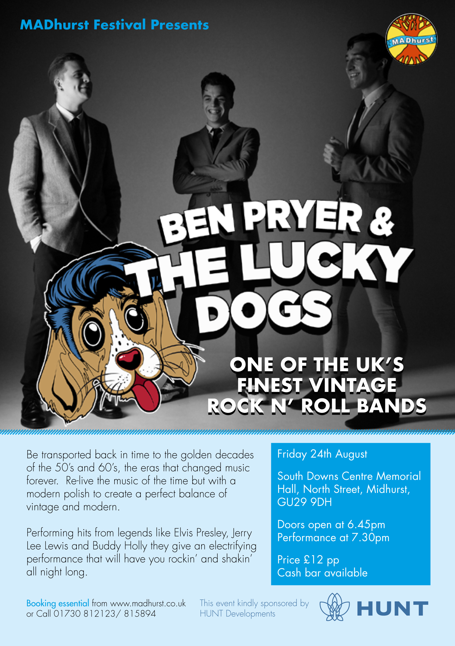 MADHURST_Ben Pryer and the Lucky Dogs