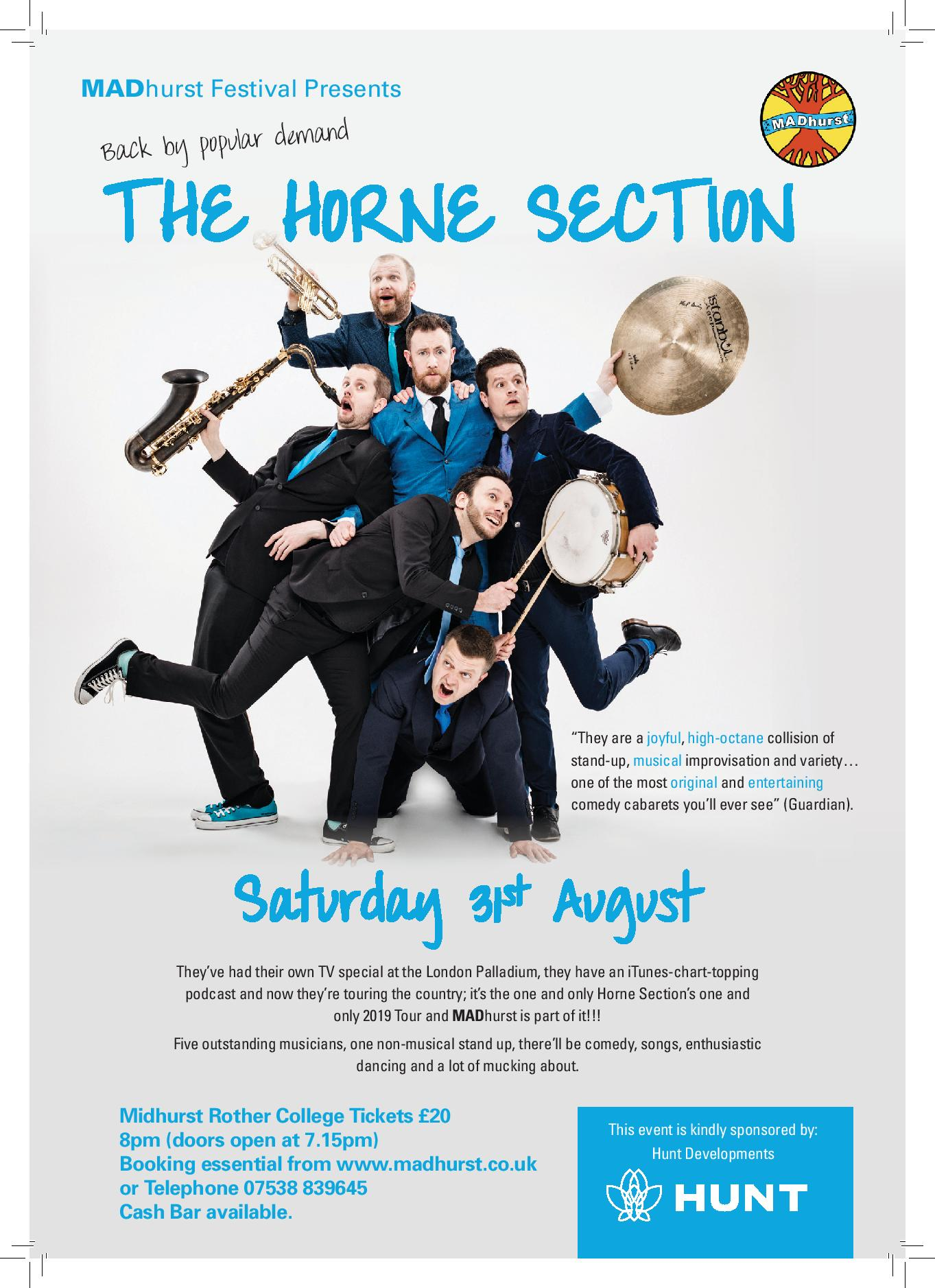 The Horne Section | SOLD OUT – MADhurst